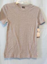 Women Tee Shirt Small S Grey Heather 100% Cotton New NWT
