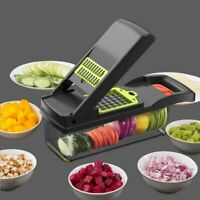 Multifunction Vegetable Fruit Cutter Mandoline Slicer Potato Carrot Cheese sold