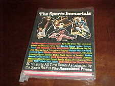1972 The Sports Immortals Book with dust jacket Johnny Unitas Cover
