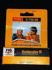 Year of 1979 Vintage Kodak Kadacolor-Ii 110 Film Sealed Original Box