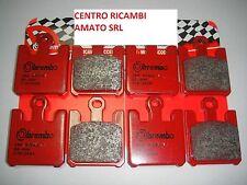 07SU26SA 8 PASTIGLIE FRENO ANTERIORI BREMBO SUZUKI BOULEVARD 1600 2006