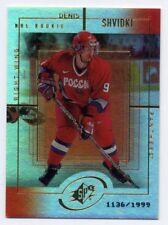 1999-00 Upper Deck SPx DENIS SHVIDKI Rookie Card RC #/1999 Ukraine Russia #170