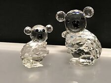 Swarovski Figuren. Koala Bären Mutter & Kind Top Zustand !!
