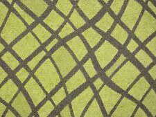 Tessuto Tappezzeria Cinigliato Double Verde Acido-Chenille Upholstery Fabric