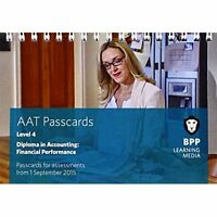 AAT Financial Performance: Passcards by BPP Learning Media (Spiral bound, 2015)