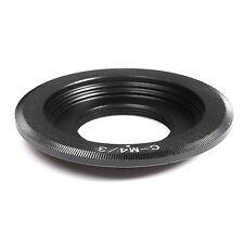 C mount Lens to Micro 4/3 m4/3 Adapter E-P1 G1 G2 GH1 GF1 GF3 E-PL1 E-PL5