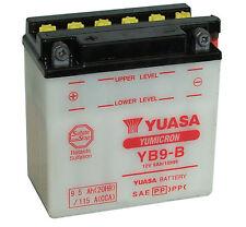 Batterie Yuasa moto YB9-B GILERA Fast Bike (Electric-Starter) -