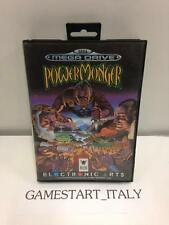 POWER MONGER POWERMONGER SEGA MEGA DRIVE MD PAL BOXED