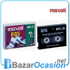 Unidad de cinta Maxell  DDS 2GB 90m 4mm Data Cartridge New