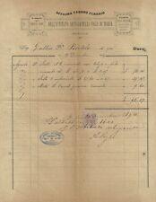 Documento Officina Fabbro Ferraio Istituto Artigianelli Figli Maria Brescia 1894