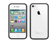 Negro parachoques señal Funda Para Apple Iphone 4 4g Reino Unido