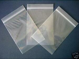 100 9 x 12.75 Grip Seal Bags Plastic A4 Clear Strong Resealable 200g Free Post