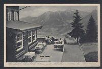 43428) AK Oberstdorf Alpenhotel Schönblick mit Nebelhorn 1935 Bahnpost