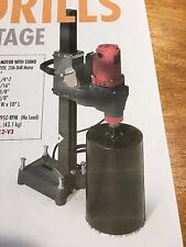"""12"""" Diamond Vantage SMD12 Core Drill Rig Electric with Stand 115V 20A Dual Speed"""