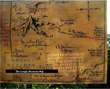 The Hobbit Special Art Vintage Poster.Movie Map.Lonely Mountain.Smaug.
