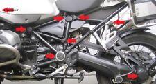 Für BMW R 1200 GS LC ADVENTURE (2014-19) Rahmenkappen- / Radnabenset 15-Teile