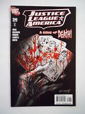 DC Comics Justice League of America #36 (2009)-JLA-Royal Flush Gang