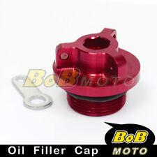 Red Billet CNC Oil Filler Cap for Ducati ST2 ST3 ST4 S 99 00 01 02 03