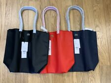 NEW-WOMEN'S LACOSTE VERTICAL TOTE BAG, ASST COLORS, STYLE: NF1890PO  $89.95