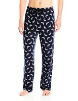 Nautica Mens Sleepwear Bass Print Sueded Jersey Pant- Select SZ/Color.