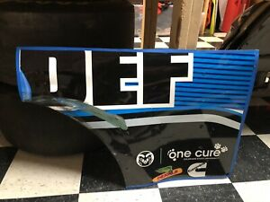 Clint Bowyer 14 Blue Def Nascar Race Used Sheetmetal  Front Quarter Panel