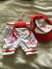 Lazy Town's Stephanie 0-3 Month Trousers And Cap Set Brand New