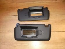 MERCEDES A CLASS 2016 PAIR OF BLACK SUN VISORS WITH 2 MIRRORS