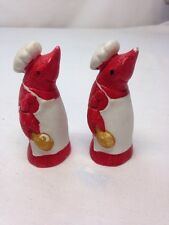 Crawfish Salt And Pepper Shakers, Louisiana, Mud Bug, Creole, Chef, Vintage