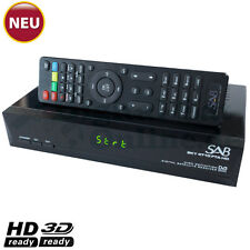 ► SAB SKY 4780 FTA Full HD SAT Receiver USB Mediaplayer YouTube HDTV NEU OVP