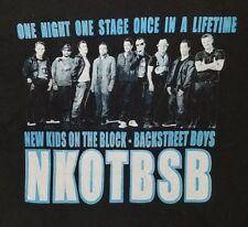 New Kids On The Block & Backstreet Boys Reunion Tour 2011 Concert T-Shirt Large