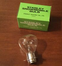 Vintage Stanley Snowmobile Light Bulb A7048 12V 60 att J Base Arctic Cat Ski Doo