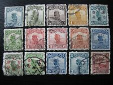 CHINA valuable unsearched stamp collection w/ better classics (92 stamps)!!