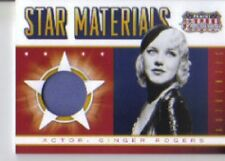 2015 Panini Americana Star Materials Ginger Rogers Swatch