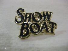 Show Boat Letter Pin Very Rare Souvenir             New                  pin2676
