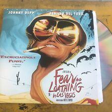 """""""Fear and Loathing in Las Vegas"""" Widescreen Laserdisc LD - Johnny Depp"""