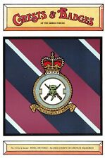 Postcard RAF Royal Air Force No.2503 Squadron (County of Lincoln) Crest Badge