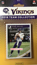Minnesota Vikings 2018 Donruss Factory Team Set Kirk Cousins Carter Rookies plus