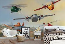 Disney Planes Fototapete Wandtapete 312x218cm Kinderzimmer + Selbstklebend