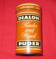 Dose Blechdose uralt Dialon Pulver - mit Restinhalt
