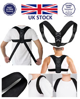 Adjustable Therapy Posture Corrector Clavicle Support Back Brace Shoulder Belt M