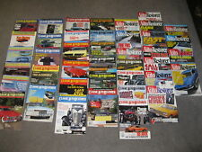 CLASSIC AUTO RESTORERER MAGAZINE BACK ISSUES 40 TOTAL SOLD AS LOT