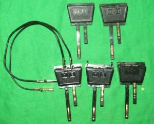5 Hornby OO gauge R602 Power Connecting Clips