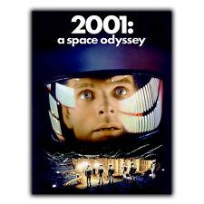 2001: una Odisea del Espacio Stanley Kubrick Letrero de Metal Placa de pared SciFi cartel impresión
