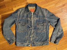 Vintage Style 1950s LEVI'S Type II Denim Jacket Sz S