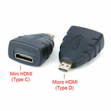 Micro HDMI (Type D) Male to Mini HDMI (Type C) Female Adapter Converter