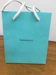 "Tiffany Paper Gift Bag NEW  6""  X  5""  X  3"""