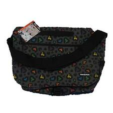 NEW Official Yak Pak Messenger Bag Multicolored Heart Pattern Laptop School Bag
