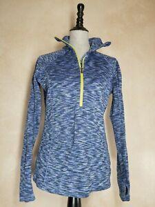 Columbia 1/2 Zip Pullover Top Jacket Women's Size Medium Blue Thermal Outdoor