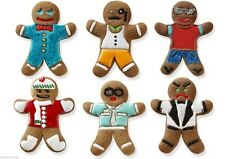 Tovolo Gingerbread Man Cookie Cutter & 6 Design Stamps Set Ginger Boys