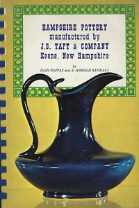 Antique Hampshire Pottery Stoneware by  J.S. Taft Co. Types / Illustrated Book